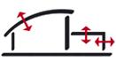 Abwandlung unseres Logo für Darstellung von Gebäudevolumen