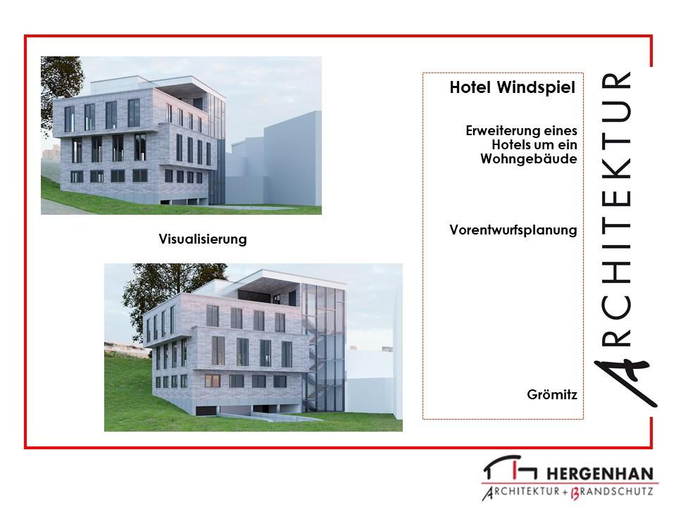 3D Visualisierung Hotel Windspiel in Grömitz